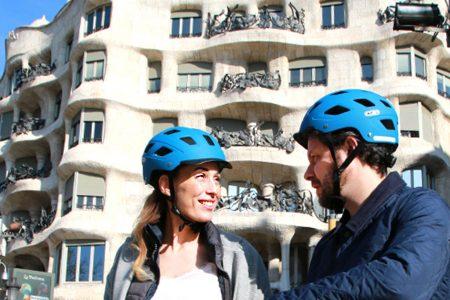 Bike Tour Barcelona Gaudi
