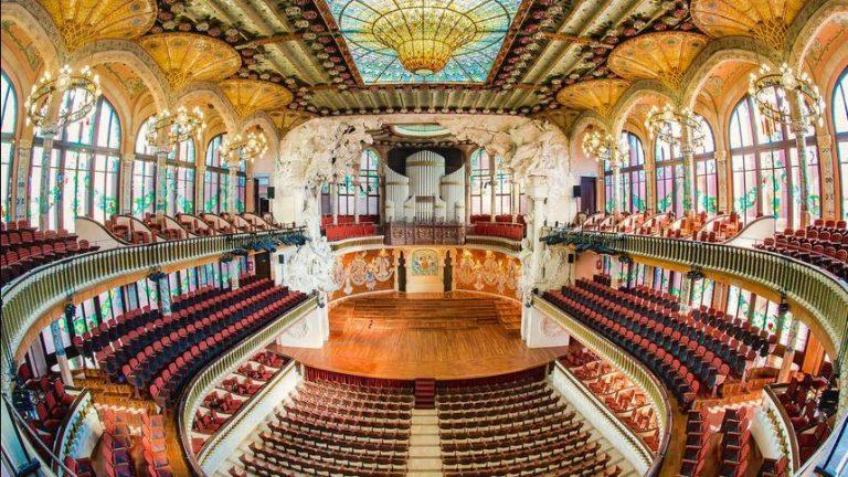 Todo sobre El Palau de la Música Catalana de Barcelona