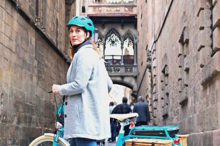 Bike Barcelona historical tour