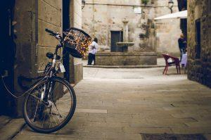 Barcelona Sant Felip Neri Bycicle