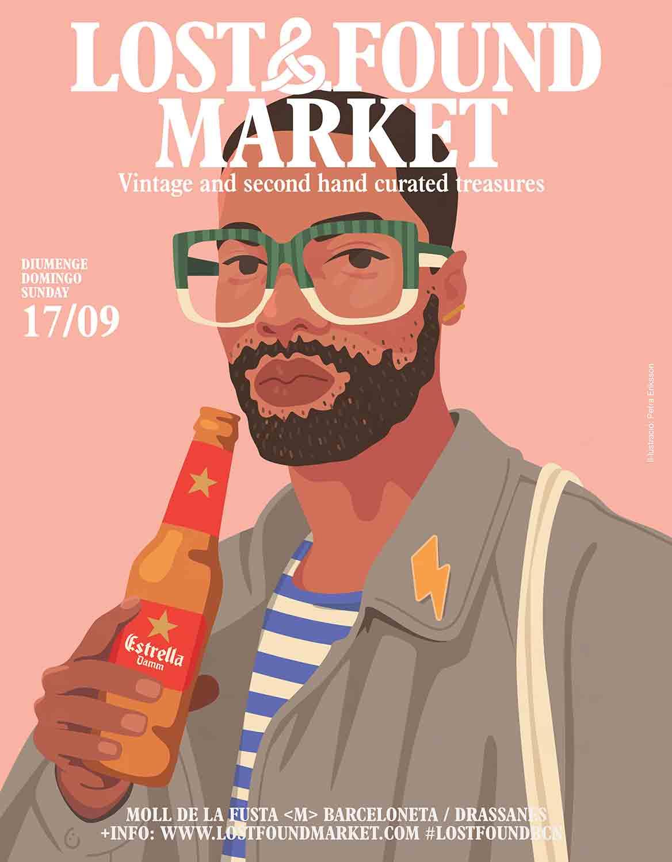 best flea markets in barcelona - lost & found